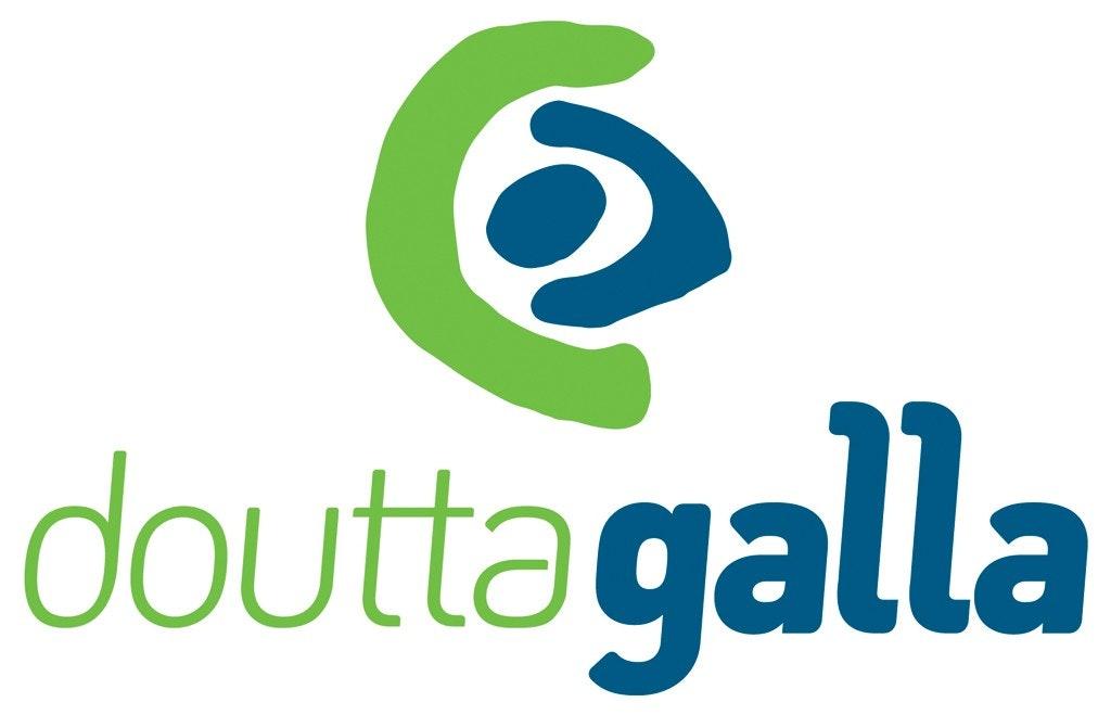 Doutta Galla Grantham Green logo