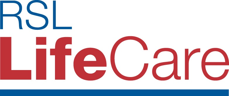 RSL LifeCare Bill Newton VC Gardens logo
