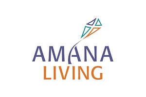 Amana Living Salter Point Peter Arney Village logo
