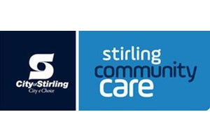 Stirling Community Connecting to Community logo