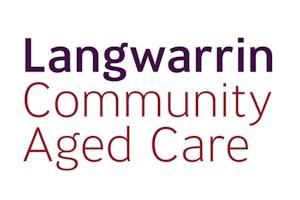Langwarrin Community Aged Care logo