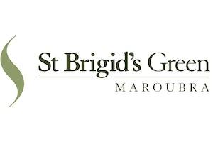 St Brigid's Green logo