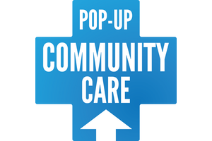 Pop-Up Community Care logo