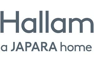 Japara Hallam logo