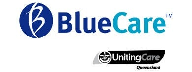 Blue Care Bundaberg Pioneer Aged Care Facility Logo
