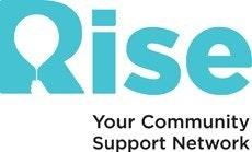 Volunteering with Rise logo