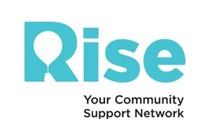 Volunteering with Rise logo