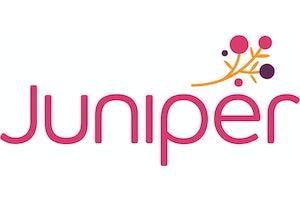 Juniper Chrystal Halliday Village logo