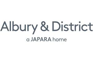 Albury & District | a Japara home logo