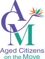 Aged Citizens on the Move logo