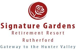 Signature Gardens Retirement Resort logo