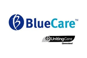 Blue Care Ipswich Community Care logo