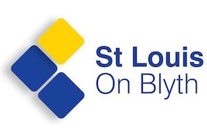 St Louis on Blyth logo