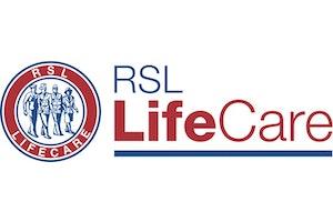 RSL LifeCare Patrick Bugden VC Gardens logo